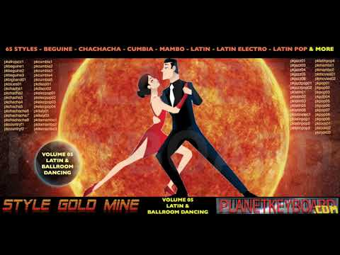 Stil Gold Mine Styles: Latin Ballroom Dancing