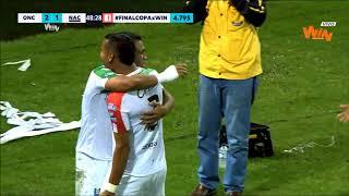 Once Caldas Vs Nacional (2-2)   Copa Aguila 2018   Final Ida