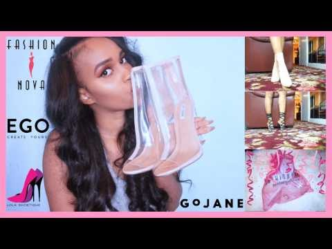 Shoe Try-On Haul👡 || Fashion Nova & more