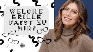 Welche Brille passt zu welcher Gesichtsform? | Werbung