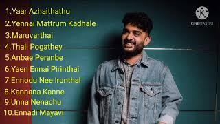 Sid Sriram Love + Melody songs Tamil....