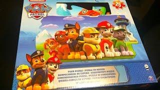❄️Щенячий патруль пазлы Paw Patrol Puzzle Единорог собирает пазлы Щенячий патруль