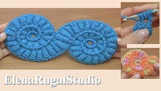 Interesting Motif With Bullion Block Stitch Tutorial 18 Freeform And Irish Lace
