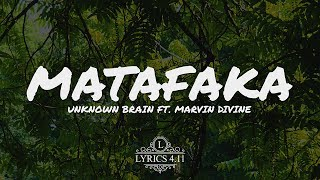 Unknown Brain - MATAFAKA (feat. Marvin Divine) // NCS Lyrics #EpicBeatsMusic