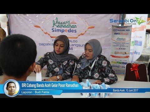 BRI Cabang Banda Aceh Gelar Pasar Ramadhan