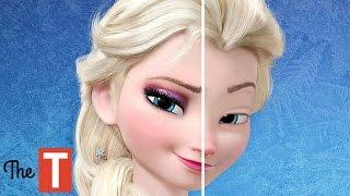10 Disney Princesses Without Makeup