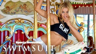 Hailey Clauson Brings The Summer Heat To Coney Island | Intimates | Sports Illustrated Swimsuit