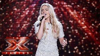 Can Louisa Johnson impress again with Beach Boys classic?   Live Week 1   The X Factor 2015