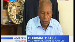 Former Nairobi Mayor Charles Rubia eulogies second liberation hero Stanley Kenneth Matiba