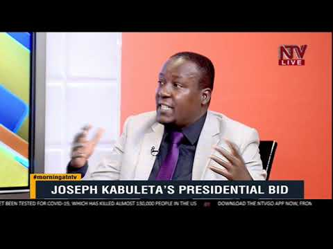 KICK STARTER: Joseph Kabuleta breaks down contents of his Presidential bid