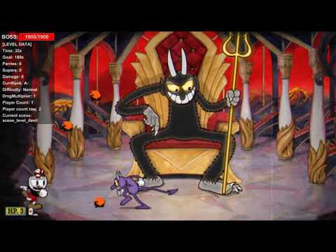 Cuphead The Unused Animation Of The Devil - HoTop GaminG - Video