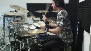 Dissection - Night's Blood - drum cover by Bestia
