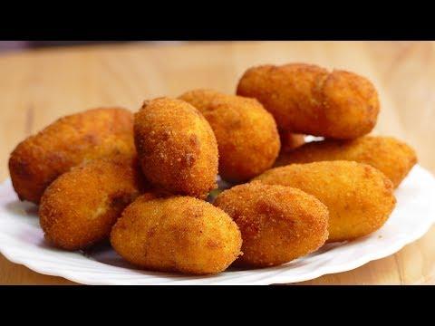 Croquetas de pollo PERFECTAS: Hazlas tú mismo - recetas de cocina faciles caseras
