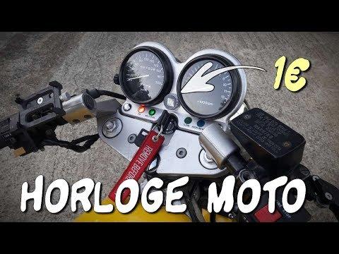 TEST mini HORLOGE moto ÉTANCHE à 1€💦