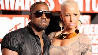 Kanye West Slams Ex Amber Rose: I Had To Take 30 Showers Before I Got With Kim