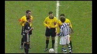 Real Sociedad 0 - Albacete 1. Temp 03/04. Jor. 26