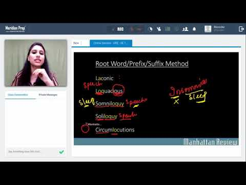 GRE Online classes - YouTube