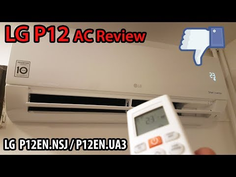 LG P12EN Air Conditioner Review (comfort air not working)