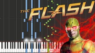 The Flash - Reverse-Flash Theme | Piano Tutorial + Sheets