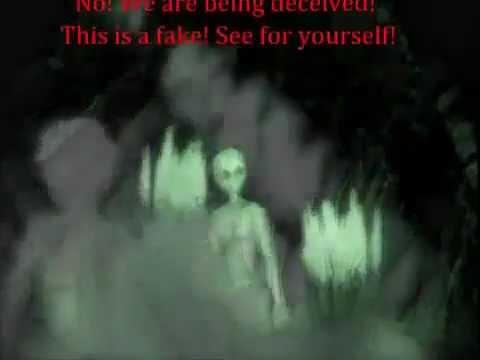 REAL ALIEN CAUGHT ON TAPE UPLOADED ON 3-13-2012