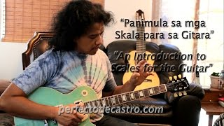 PDC-TV: Panimula sa mga Skala para sa Gitara (Filipino with English subtitles)