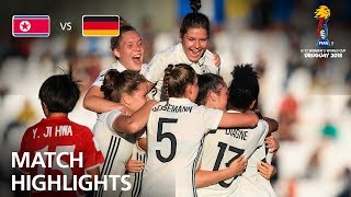 Korea DPR v Germany  - FIFA U-17 Women's World Cup 2018™ - Group C