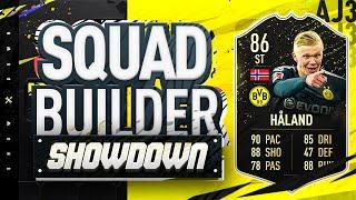 Fifa 20 Squad Builder Showdown!!! FOURTH INFORM HALAND!!! 86 Rated Dortmund Wonder Kid