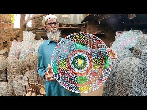Wonderful Wire Basket Making By Talented Craftsmen