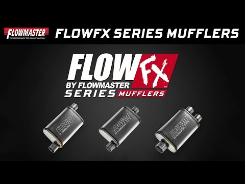 New! Flowmaster FlowFX Series Straight-Through Performance Mufflers