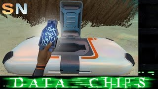 DATA CHIP TECH, NEW CRAG FIELDS AREA | Subnautica Updates