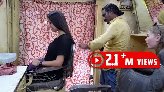 Baba Sen The Cosmic Barber Haircut To A Cute British Girl