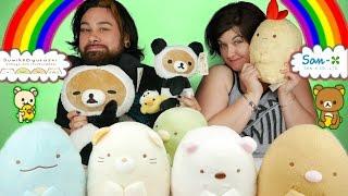 NEW Rilakkuma & Sumikko Gurashi Plush Toys! Army of Cute