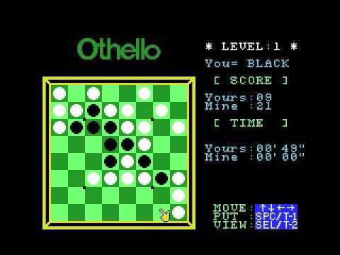 Computer Othello (1984, MSX, Sony)