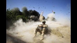 US TROOPS in Afghanistan blwing up D Mud Huts Video