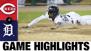 Austin Romine Plates Two In Tigers 7-2 Win | Reds-Tigers Game Highlights 7/31/20
