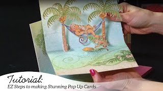 EZ Steps to Create Pop Up Scene Cards