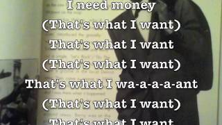 Money (That's What I Want) - Barrett Strong // *Lyrics-video by Motley Stew*