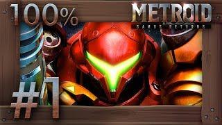 Metroid Samus Returns - 100% Walkthrough Part 1   Surface (All Missiles & Energy Tanks) 3DS Gameplay