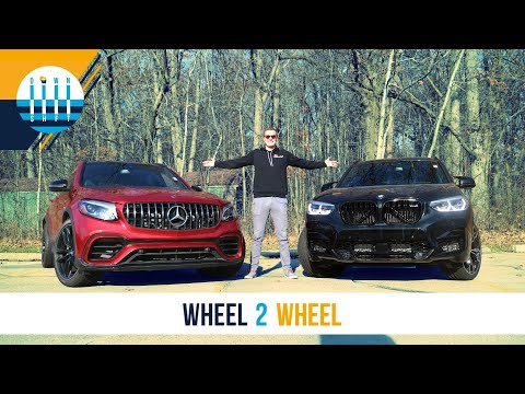 WHEEL 2 WHEEL | Mercedes-AMG GLC63 vs BMW X3M Competition - Let's Settle This...