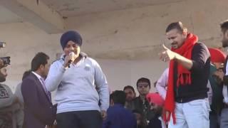 Yo Yo Nachatar Singh & Veet Baljit  Live Performance  Latest Punjabi Songs 2017
