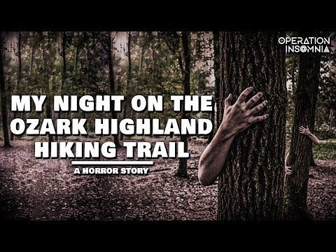 My Night On The Ozark Highland Hiking Trail