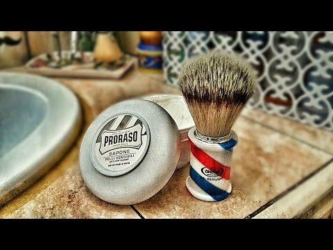 Come montare il sapone da barba