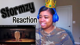STORMZY   CROWN (OFFICIAL PERFORMANCE VIDEO) Reaction!!