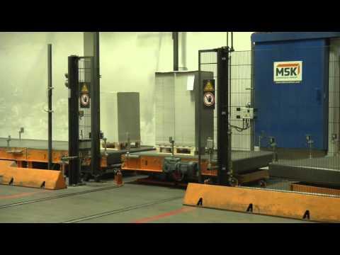 Palettenfördersysteme für die Papier- und Kartonindustrie