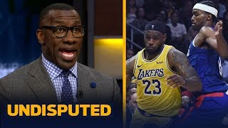 Clippers defense has no one to stop the Lakers' pick and roll — Shannon Sharpe   NBA   UNDISPUTED