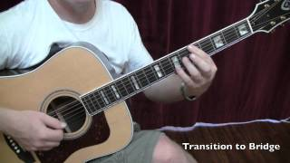 Belly Belly Nice-Dave Matthews Guitar Lesson by Shawn Fleming