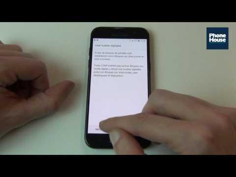 Tip: Desbloquear Samsung Galaxy A3 2017 deslizando dedo en distintas direcciones