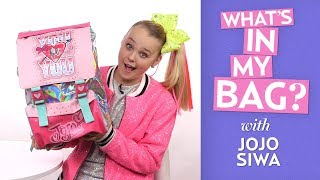 What's In My Bag With JoJo Siwa