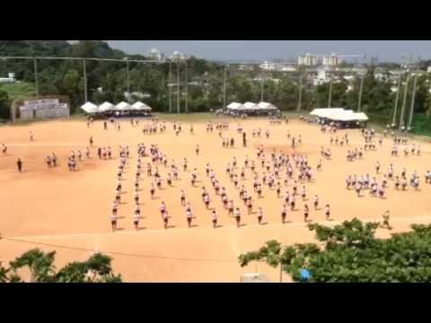 北中城中学校 体育祭 フラッシュモブ