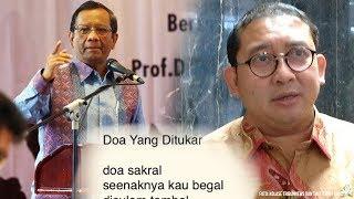 Minta Sikapi Puisi Fadli Zon Secara Politik, Mahfud MD: Pantas Tidak Dipilih Sebagai Wakil Rakyat?